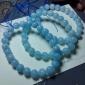 海蓝宝单圈规格8.5-8毫米干净的感觉水润润-颗粒好 厂家